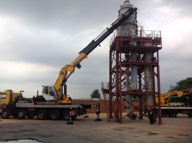crane for hire johannesburg