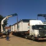 knuckle boom crane hire tandem lift