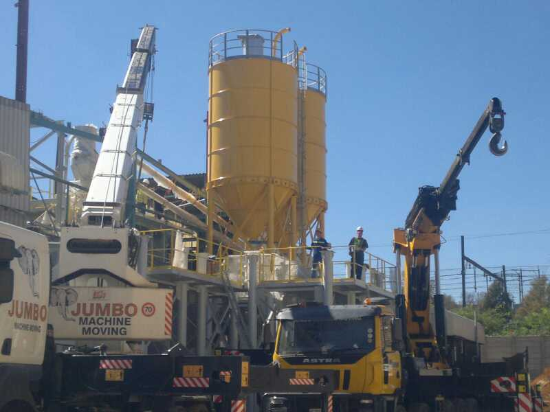 plant relocation SIKA