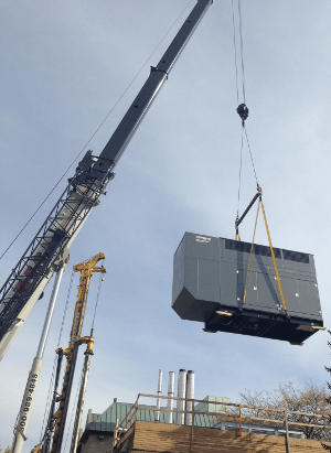 generator being offloaded