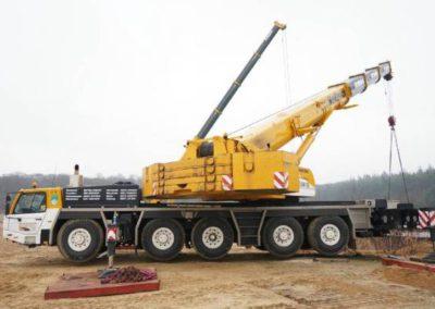 mobile crane for hire